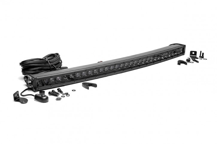 Curved Light Bar 30 Inch - Single Row