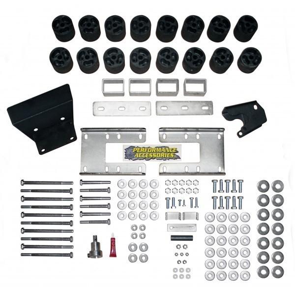 3 Zoll Body Lift Kit RAM 1500 Bj. 2009 - 2017