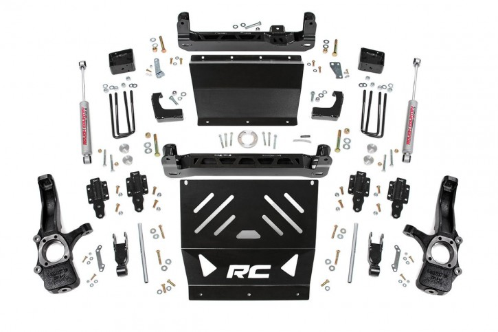 "4"" GM Suspension Lift Kit Bj. 15-16"