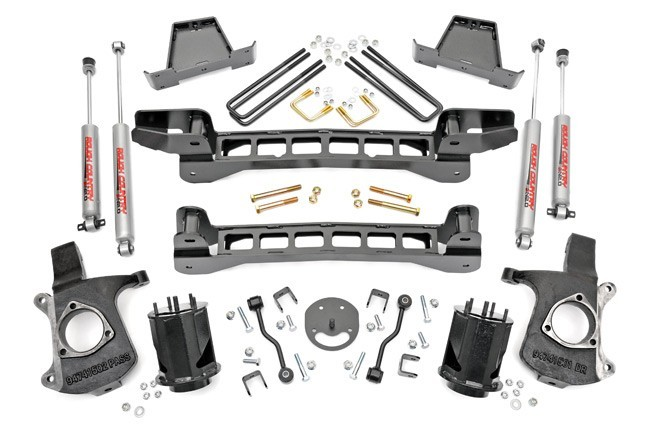"6"" GM Suspension Lift Kit -2WD- Bj. 99-06"