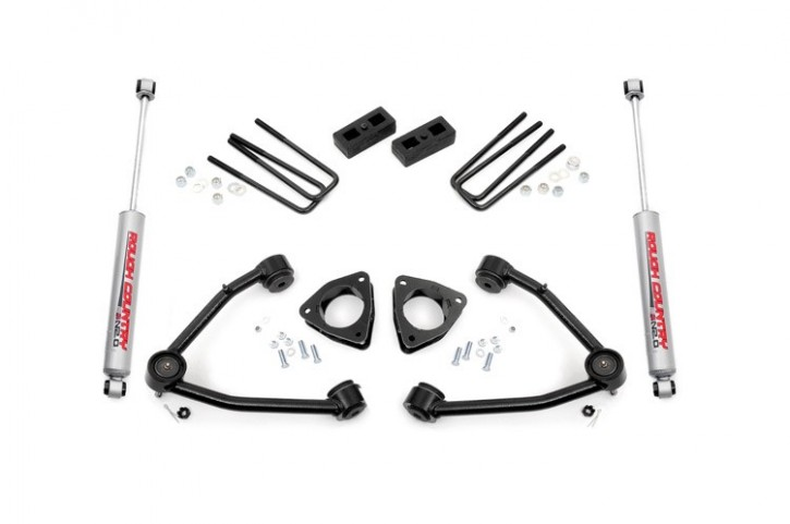 "3.5"" GM Suspension Lift Kit (w/Upper Control Arms)"