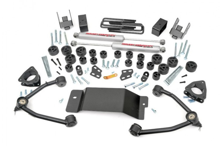 "4.75"" GM Combo Lift Kit -4WD- Bj. 07-13"