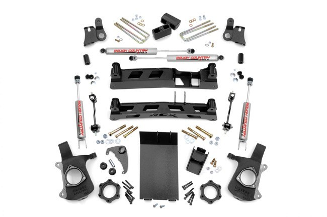 "4"" GM NTD Suspension Lift Kit -4WD- Bj. 99-07"