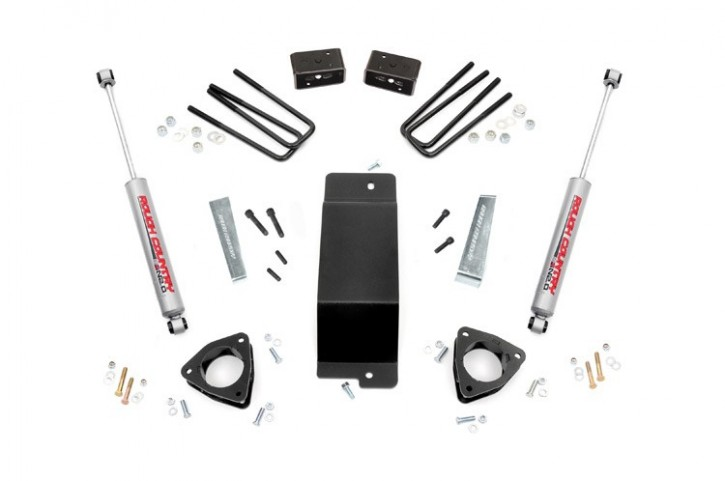 "3.5"" GM Suspension Lift Kit -4WD- Bj. 07-13"