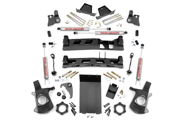 "6"" GM NTD Suspension Lift Kit -4WD- Bj. 99-07"
