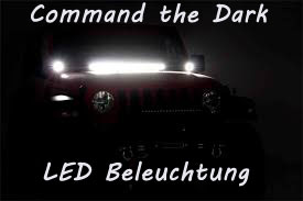 Command the Dark - LED Beleuchtung