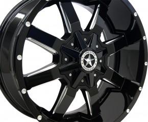 Lonestar Gunslinger 9x20 schwarz / silber TÜV