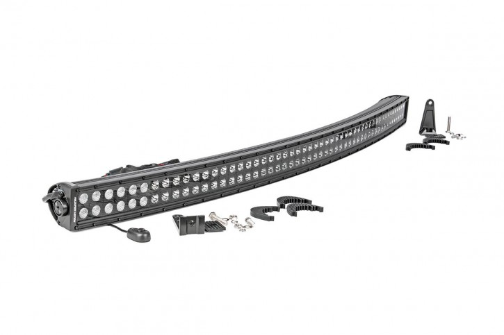Curved Light Bar 50 Inch - Dual Row