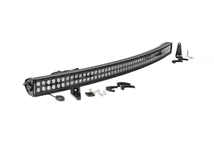 Curved Light Bar 54 Inch - Dual Row