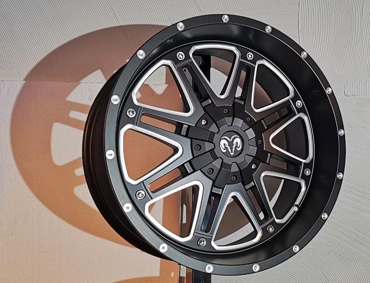 Lonestar Voodoo 9x20 schwarz matt / silber TÜV