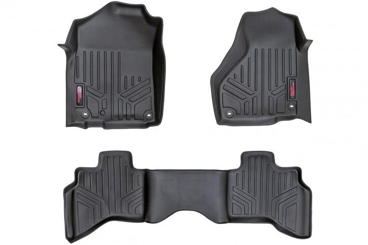 RC 3tlg. Heavy-Duty Fußmatten-Set vorn/hinten Silverado/Sierra Double Cab Bj. 14-17
