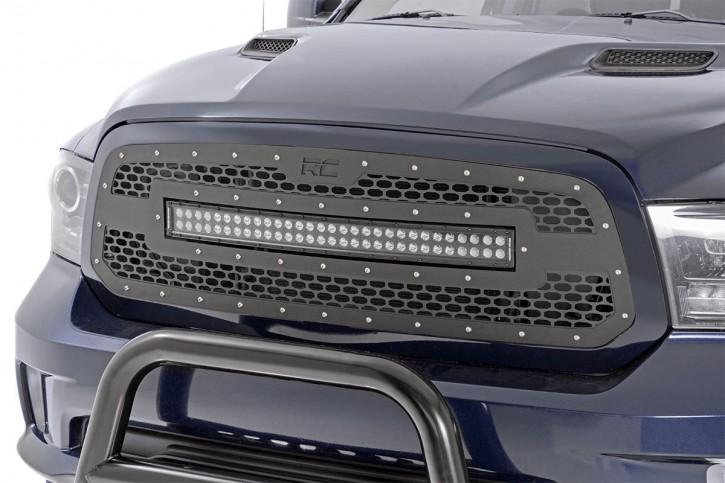 Kühlergrill MESH Serie mit 30 inch LED Dodge Ram 2013 - 2018