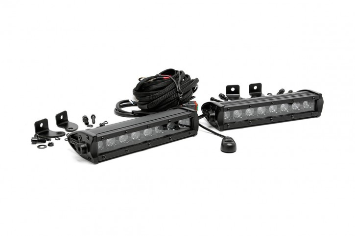 Light Bar 8 Inch - Single Row - Paar